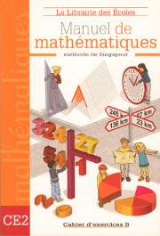 Cahier d'exercices de mathématiques B CE2