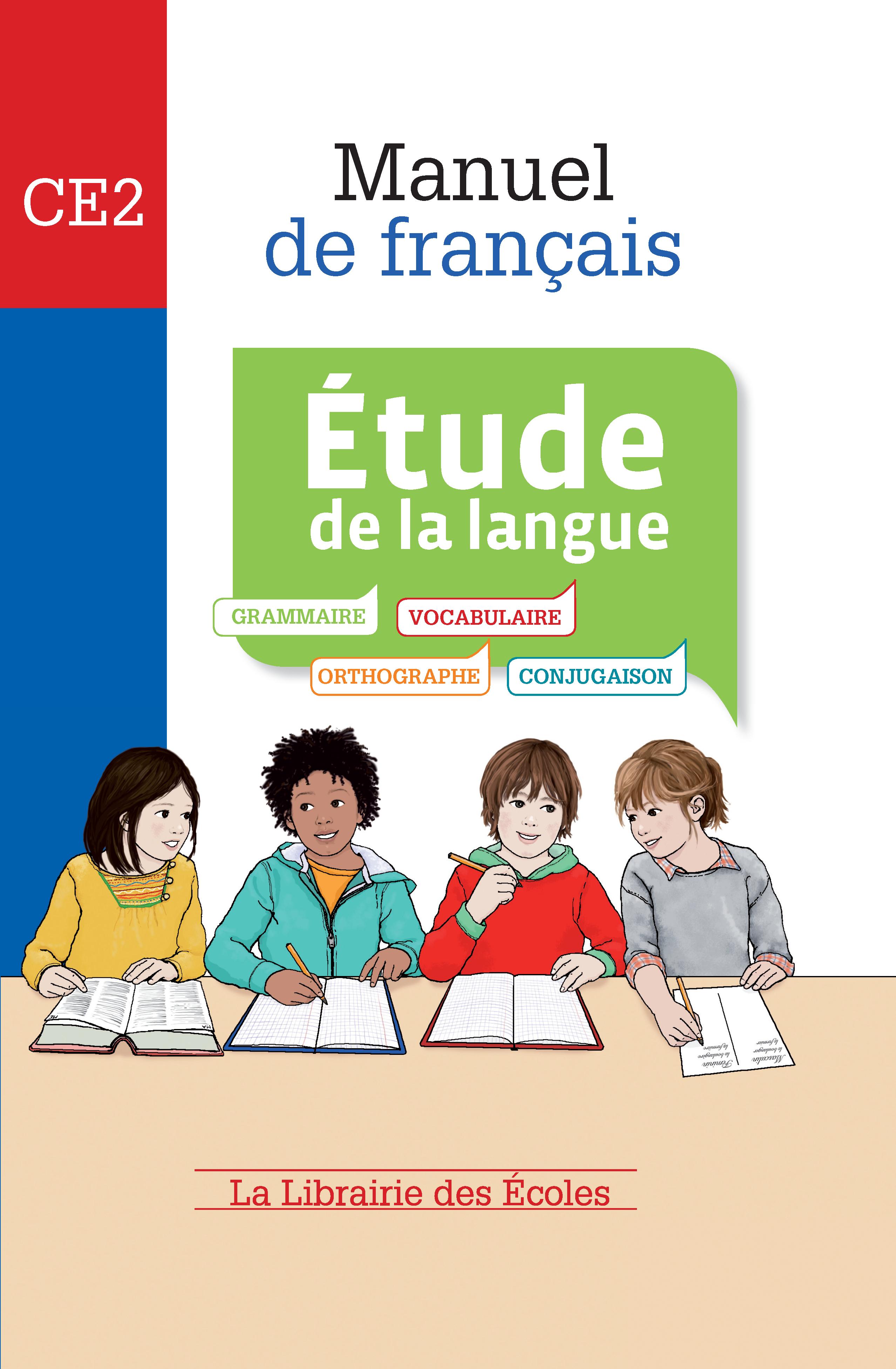 manuel de fran u00e7ais ce2 -  u00c9tude de la langue