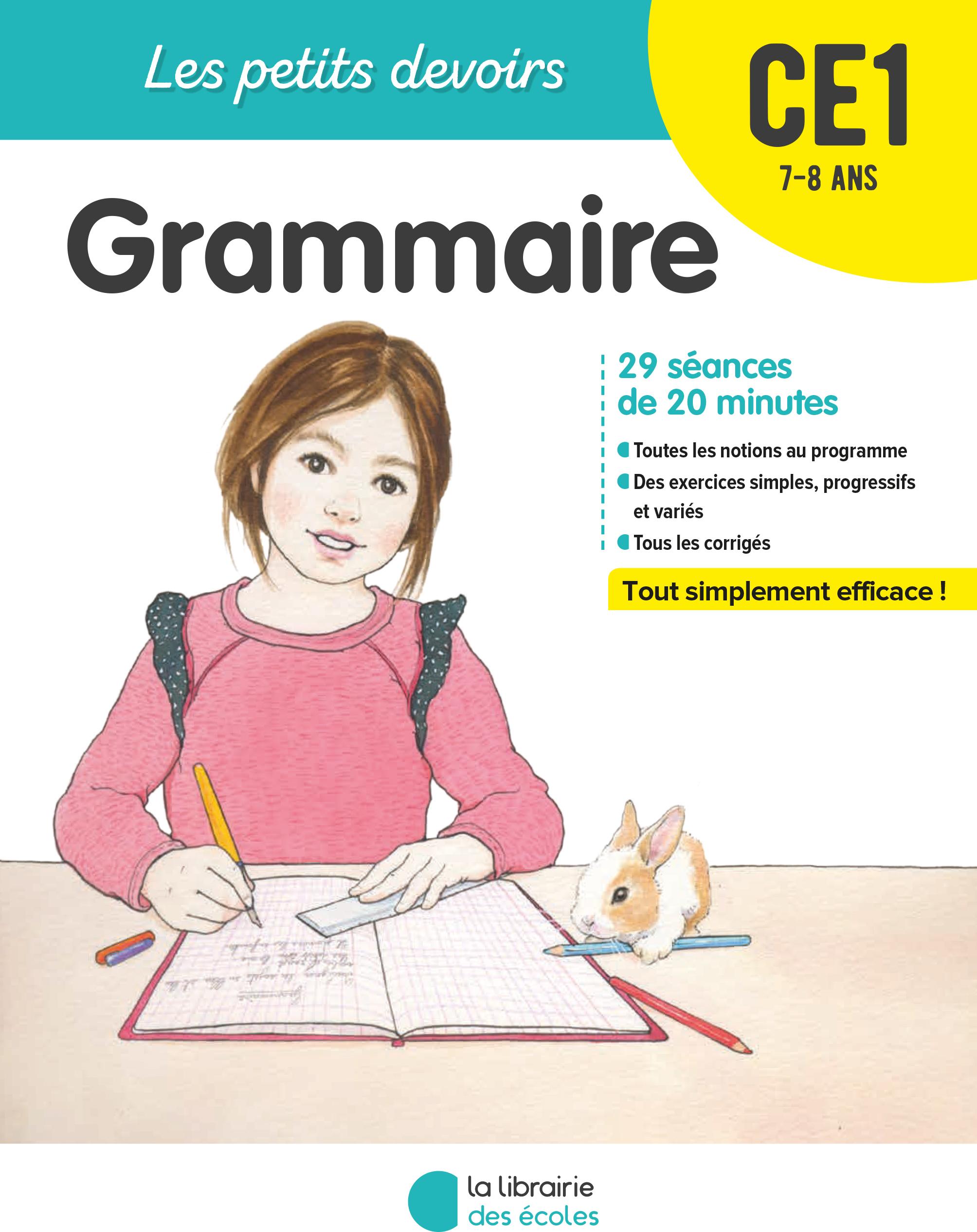 Grammaire ce1