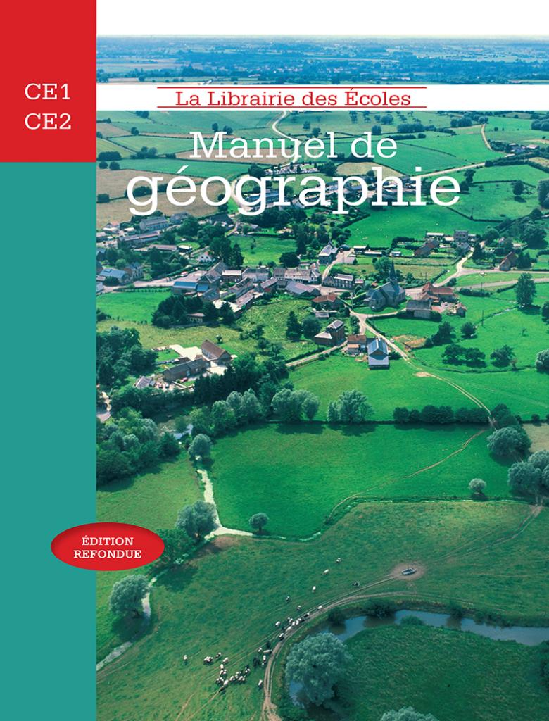 Manuel de géographie CM1 - CM2