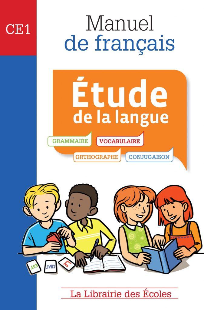 Manuel de français – Étude de la langue – CE1