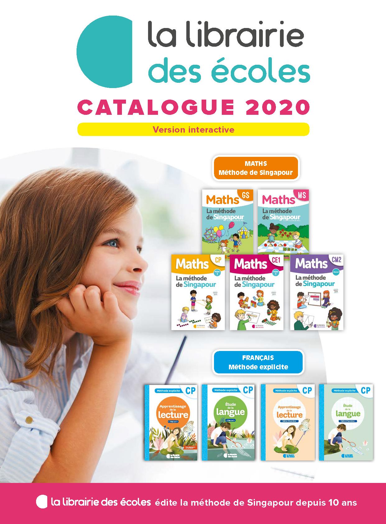 La Librairie des Écoles - catalogue 2020