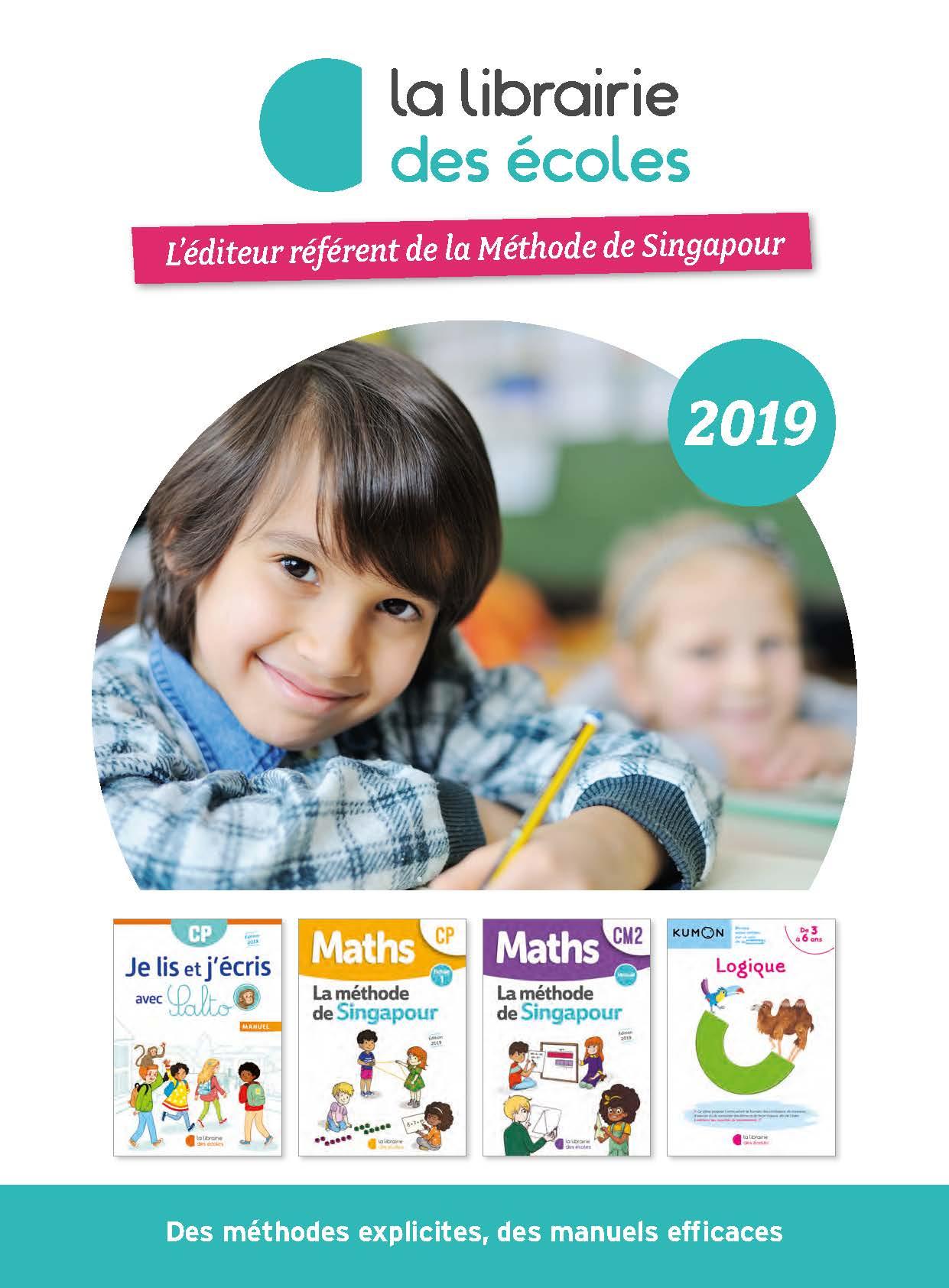 Catalogue La Librairie des Ecoles 2019