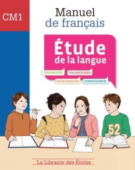 Manuel de français étude de la langue CM1