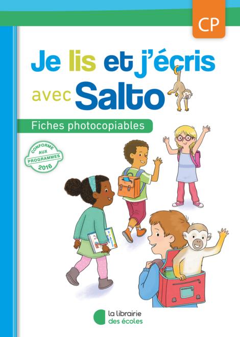 Je lis et j'écris avec Salto - Fichier photocopiable CP