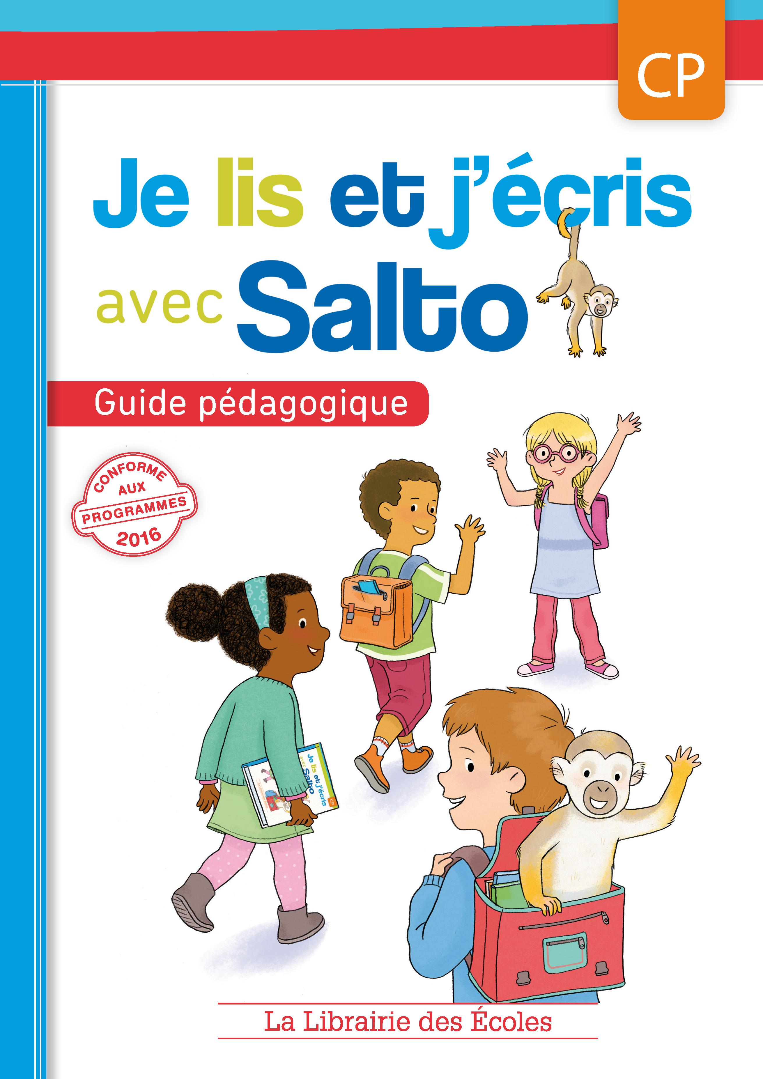 Je lis et j'écris avec Salto - Guide pédagogique CP