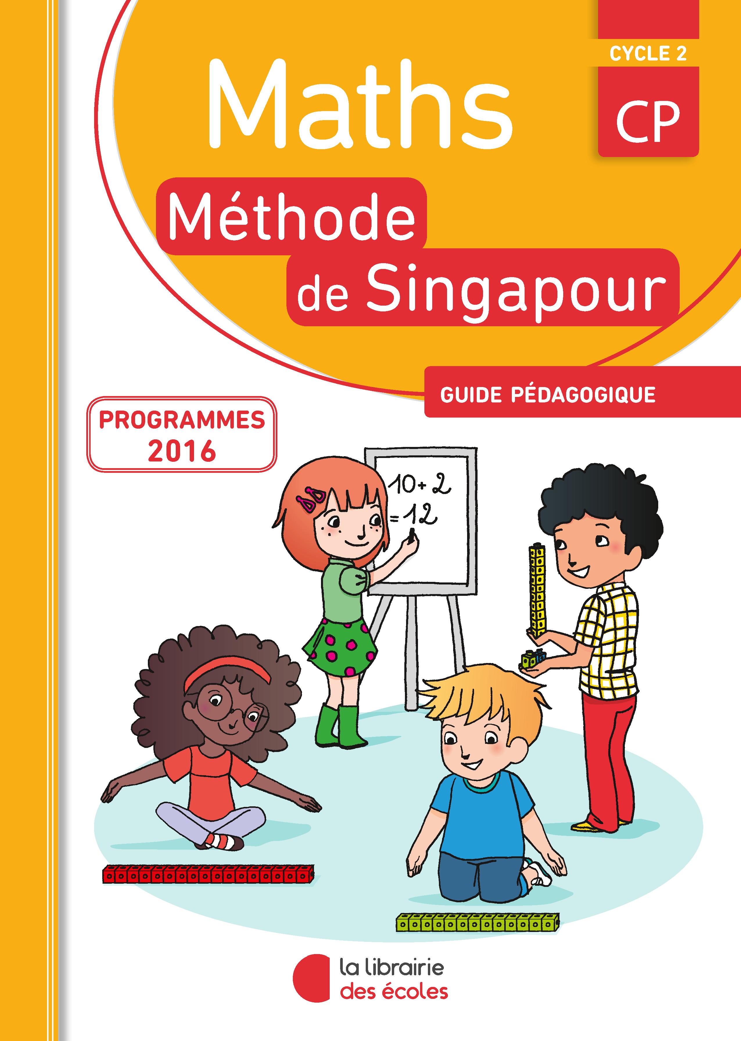 m u00e9thode de singapour - guide p u00e9dagogique cp -  u00c9dition 2016