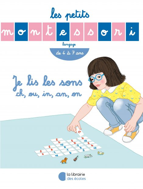 Les Petits Montessori – Je lis les sons ch, ou, in, an, on