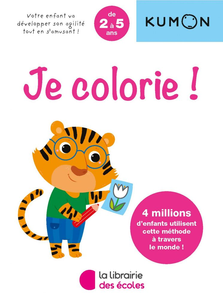 Kumon - Je colorie