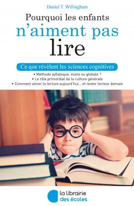 Pourquoi les enfants n'aiment pas lire