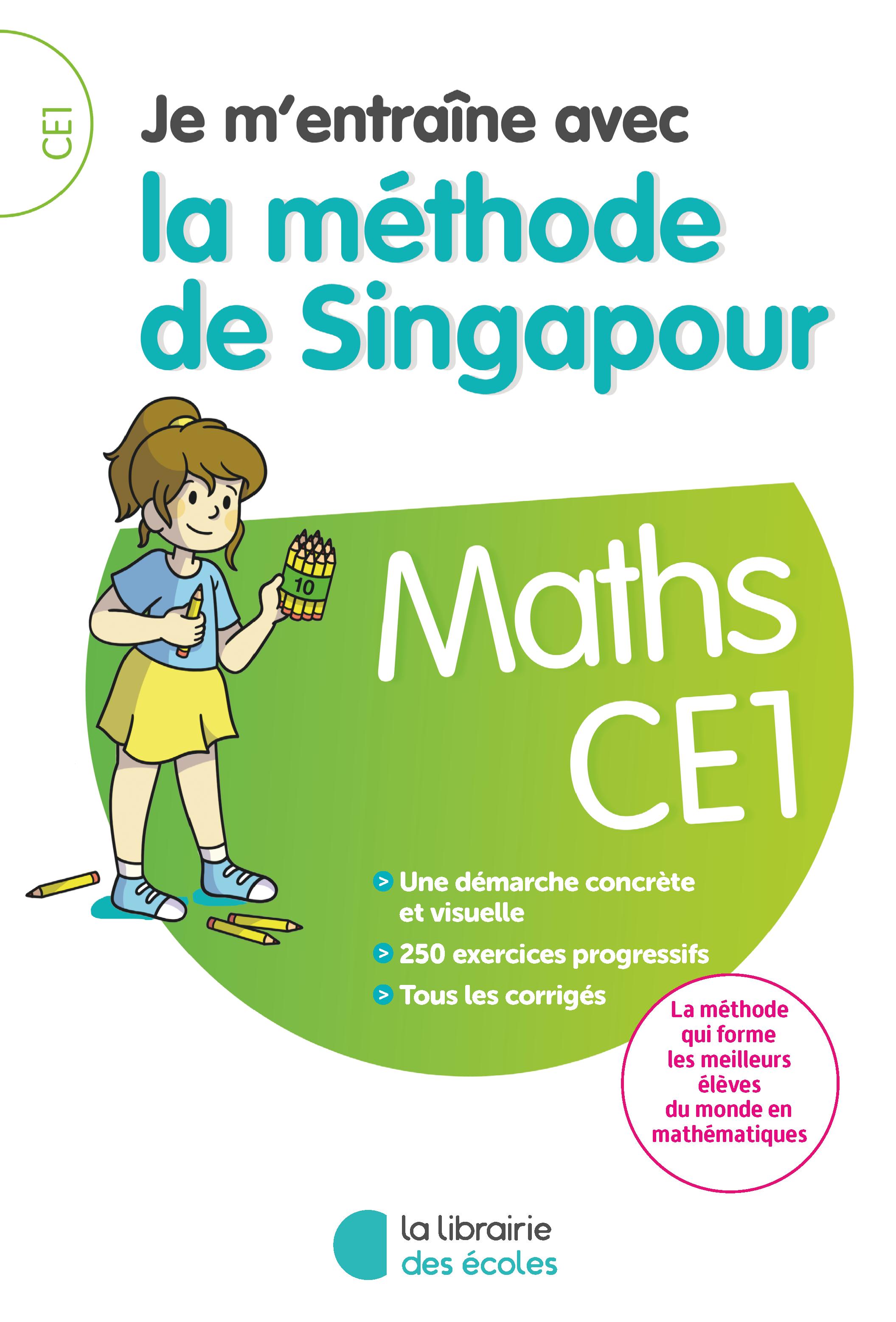je m u0026 39 entra u00eene avec la m u00e9thode de singapour - maths ce1