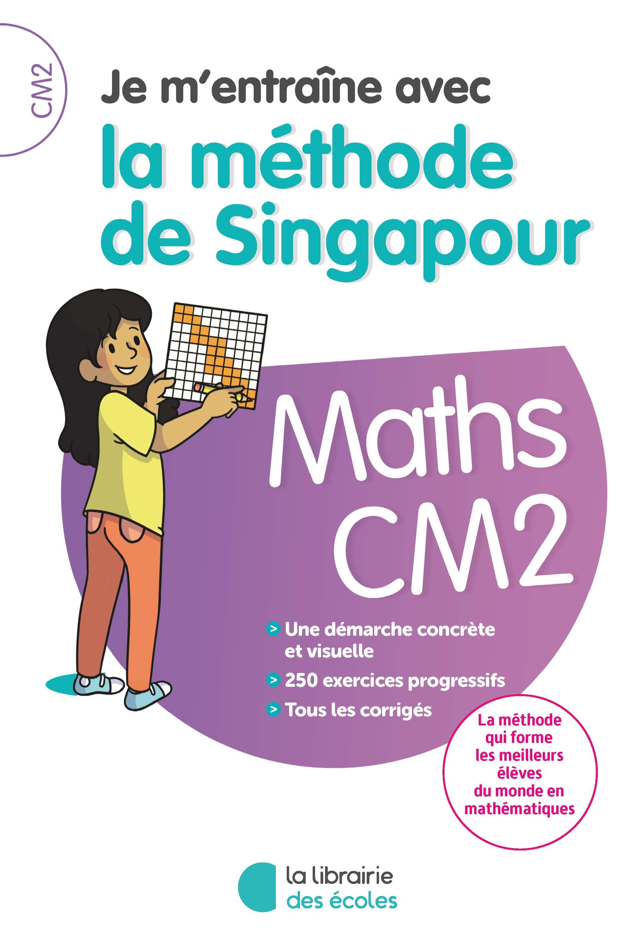 e m'entraîne avec la méthode de Singapour CM1