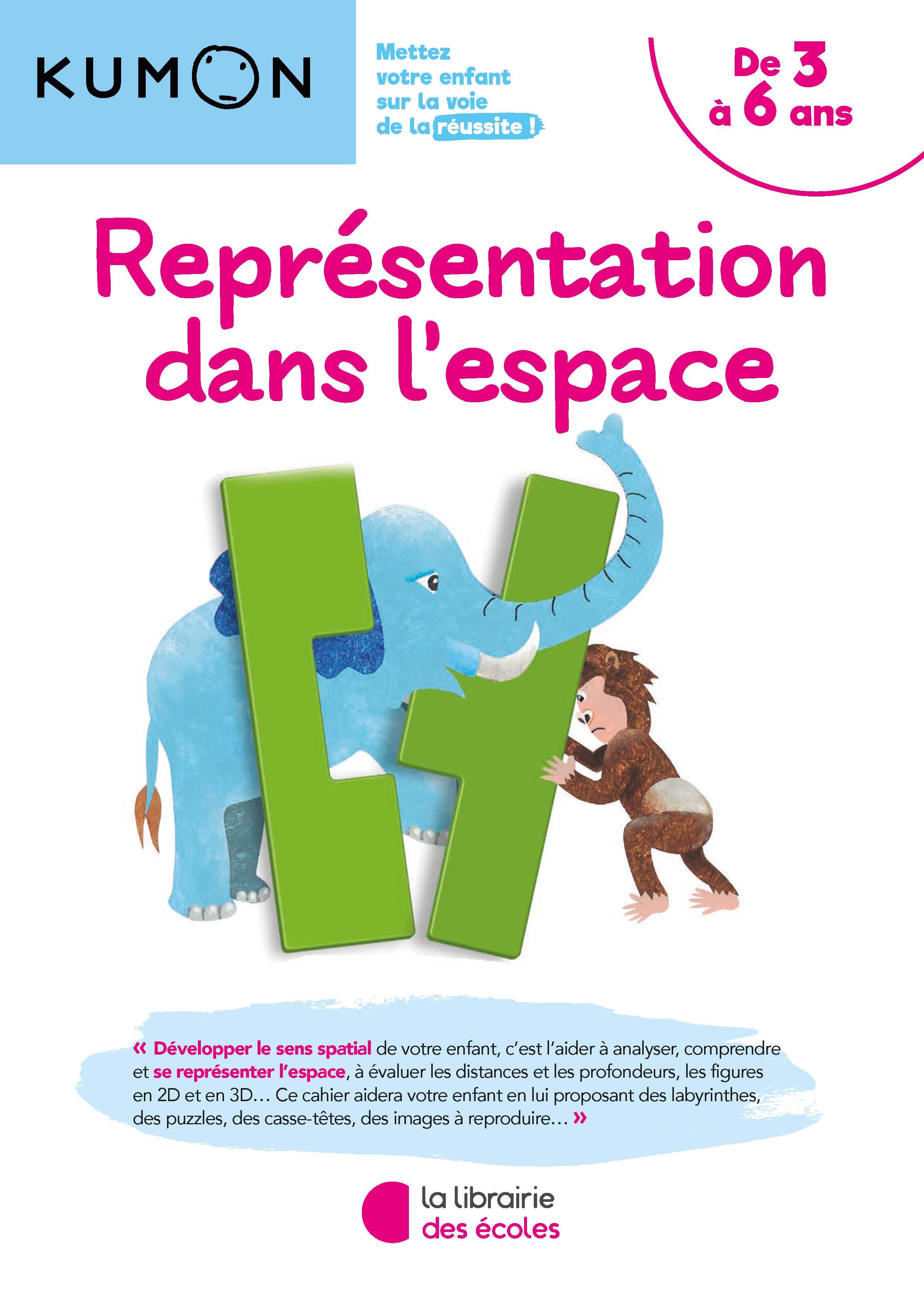Coloriage Reperage Dans Lespace.Methode Kumon Representation Dans L Espace La Librairie Des Ecoles