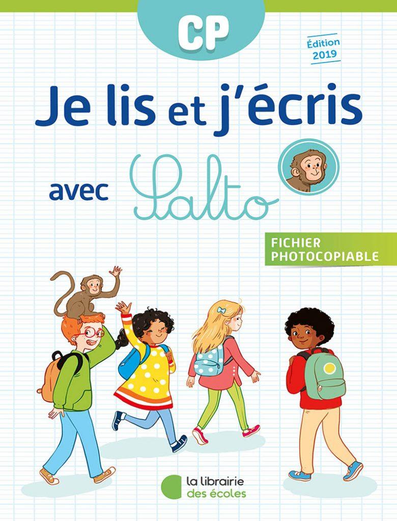 Je lis et j'écris avec Salto - CP - édition 2019 - fichier photocopiable