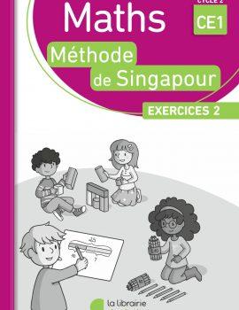 Méthode de Singapour - pack de 10 cahiers d'exercices 2 CE1