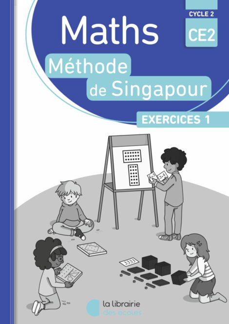 Méthode de Singapour - pack de 10 cahiers d'exercices 1 CE2
