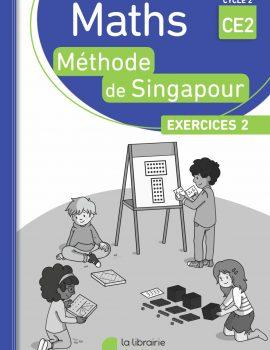 Méthode de Singapour - pack de 10 cahiers d'exercices 2 CE2
