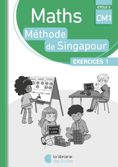 Méthode de Singapour - pack de 10 cahiers d'exercices 1 CM1