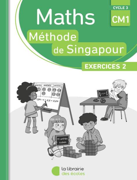 Méthode de Singapour - pack de 10 cahiers d'exercices 2 CM1