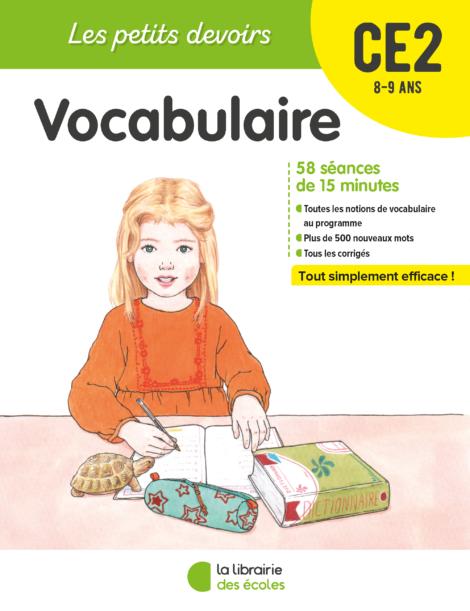 Les petits devoirs - Vocabulaire CE2