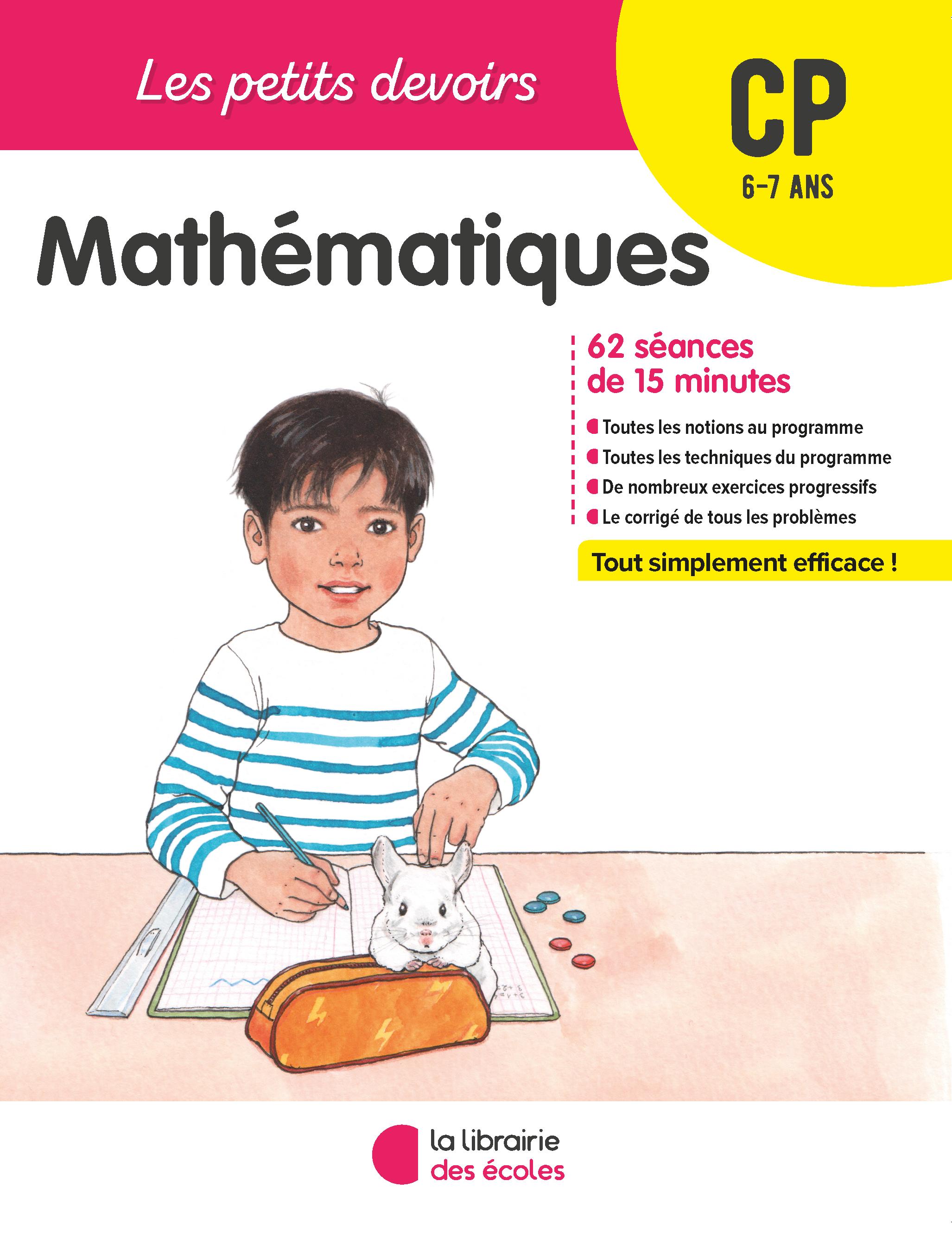 Les Petits Devoirs Mathematiques Cp La Librairie Des Ecoles
