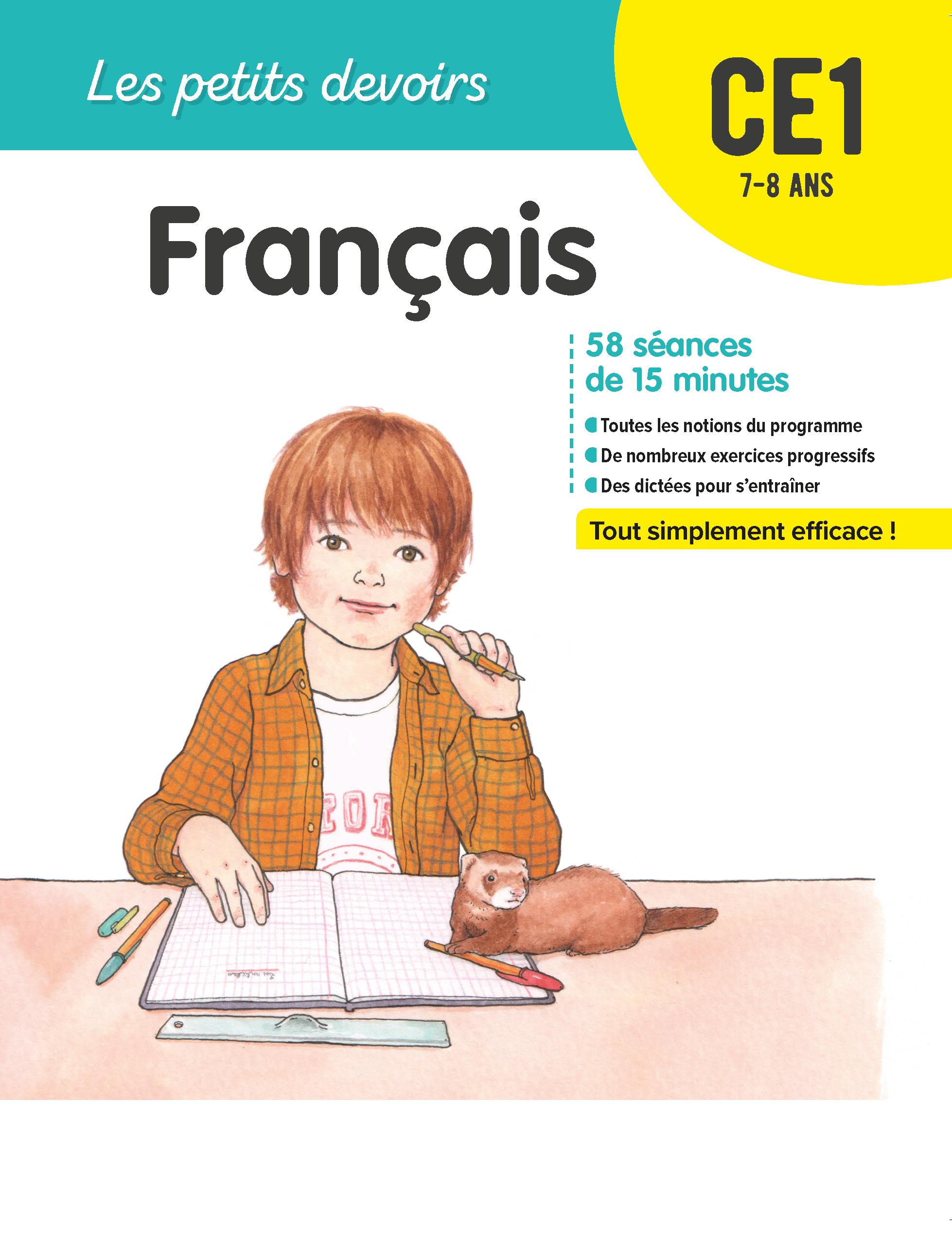 Les Petits Devoirs Francais Ce1 La Librairie Des Ecoles