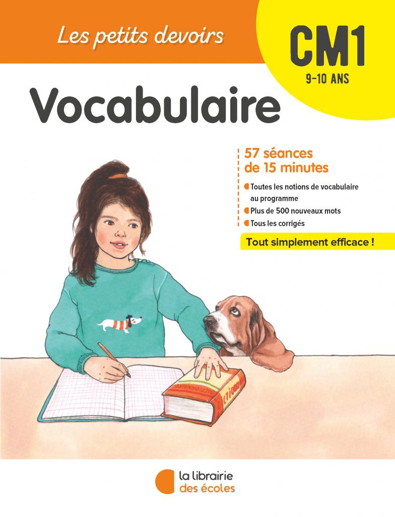 Les Petits devoirs - Vocabulaire CM1 - La Librairie des écoles
