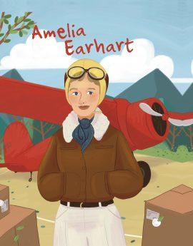 La vie d'Amélia Earhart