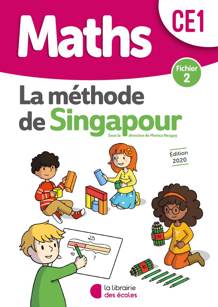 La méthode de Singapour - Fichier 2 - CE1 - édition 2020