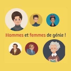 hommes et femmes de genie