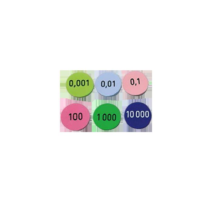 Matériel pédagogique - Disques nombres cycle 3