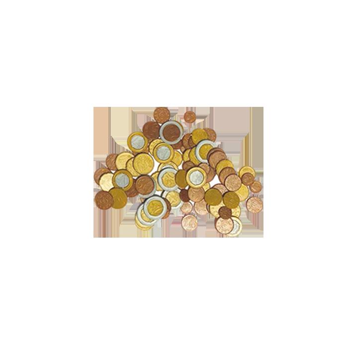 Matériel pédagogique - Pièces de monnaie