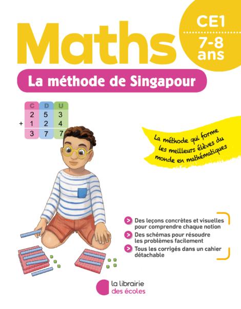 La méthode de Singapour - CE1 - pour la maison