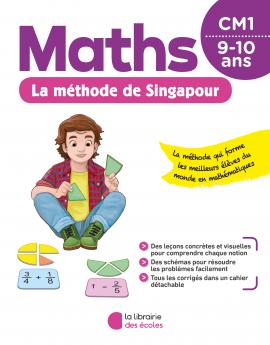 La méthode de Singapour - CM1 - pour la maison