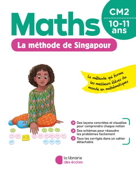 La méthode de Singapour - CM2 - pour la maison