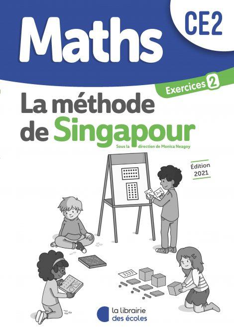 Méthode de Singapour – pack de cahiers d'exercices 2 – Édition 2021 – CE2