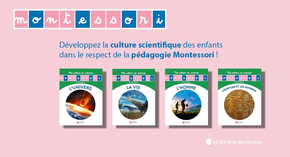 Mes cahiers de sciences - Les petits Montessori